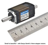'small is beautiful' for 14mm Sanyo Denki Stepper Motor