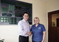 ABL Circuits cngratulate Jenny Lewis on her 20 years loyal service.
