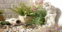 Protecting your garden ornaments and plants against theft.. Wednesday 21st May 2008