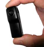 The VCC-003 / MD80 mini DVR is the worlds smallest camera Monday 30th November 2009