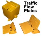 Surface Mount and Embedded Traffic Flow Plates available Sunday 14th December 2008