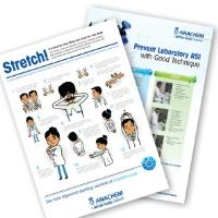 Reduce the Aches and Pains of Pipetting with Good Pipetting Posture – Request Your Free Poster from Anachem