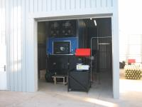 980kW Boiler with Flat Bottomed Silo