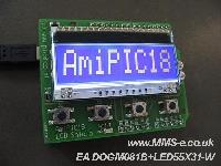 Ami18 Board,  Ami18 LCD Shield,  Ami18 Graphic and  Ami18 Proto from Picshop are now available