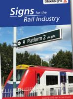 Rail signs from leading rail signage manufacturer