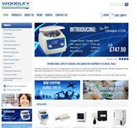 Woodley Equipment Announces its New Online Store