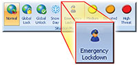 Emergency Lockdown with Doors.NET and PXL or NXT Hardware