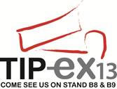 We will be exhibiting at the Tip-Ex show 2013