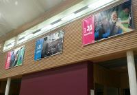 Large format graphics for National Trust central office