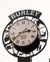 Commemorative clock now has pride of place in Burley