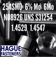 UNS S31254 Fasteners