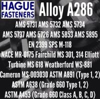 ASTM A453 660 Fasteners