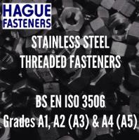 Stainless Steel Fasteners to BS EN ISO 3506 Grades A1, A2 (A3) & A4 (A5)