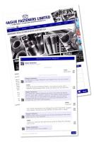 """Hague Launch Special Fastener """"LIVE CHAT"""""""