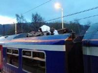 Duvet causes train to be cancelled. A case of railway 'sleepers'!