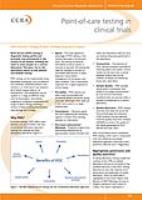 Point of Care Testing in Clinical Trials Article