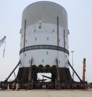 ALE load-out modules which are set to become world's largest turret.