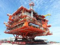 Pearl Manora Topside load-out, Thailand