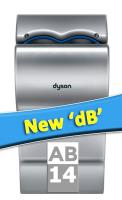 New Dyson Airblade dB Hand Dryers