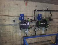 Verderflex peristaltic pumps replaces mag drive pumps in water treatment