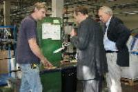 Local MP visits factory
