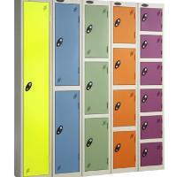 New Bright Coloured School Lockers  with Free Site Survey