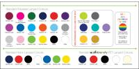 Lanyards in a wide range of colours