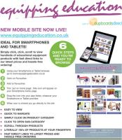 New mobile Education products site - browse anywhere