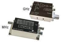 New small signal amplifier modules with GHz bandwidth