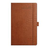 Brown Mock Croc Diary for 2016