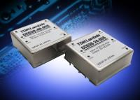 Wide range input DC-DC converters deliver 30W in a 1 x 1 inch footprint