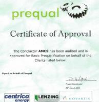 AMCS have been awarded a Certificate of Approval by HCF CATCH