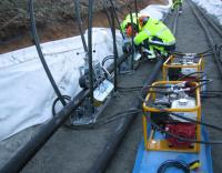 Atlas now offer a range of Cable Pushing Machines