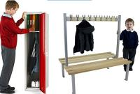 School Cloakroom Furniture - Free Site Survey or We'll Beat Any Existing Quote - Call Free 0800 612 6788