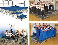 Staging & Folding Chairs, Exam Desks & Tables, Lockers & Cloakroom Units