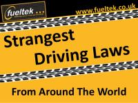 Strangest Laws from Around the World (Slideshare)