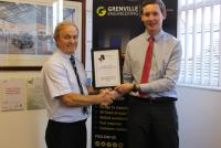 Staffordshire Chamber commends Ashley Baker for Young Employee/Apprentice of the Year Award