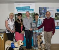 Support Dogs awarded inaugural Burns Charity of the Year