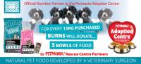 Burns partners with Petmania