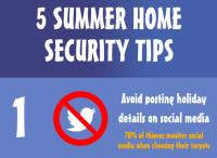 5 Tips To Keep Your Home Safe During The Summer Holidays