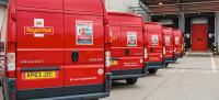 Royal Mail van livery gets a festive stamp
