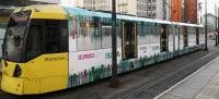 Tram-endous festive vehicle wrap