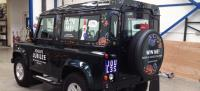 Joules celebrates its 25th anniversary with a limited edition Land Rover vehicle wrap