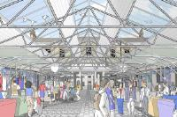 New roof for Greenwich Market