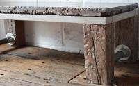 Blake's industrial railway sleeper table