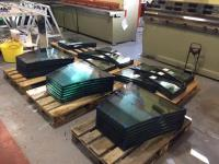 Curved Glass Ready For Installation