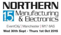 Come and visit us at Northern Manufacturing 2015
