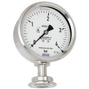 New diaphragm pressure gauge for hygienic processes