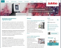 New! JULABO website - now available in Dutch