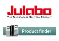 JULABO Product Finder – find the best solution for your temperature control application